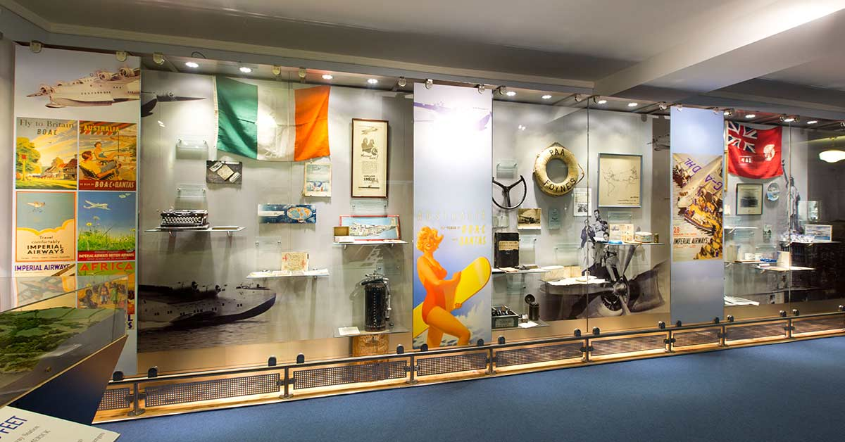 Learn the History of North Atlantic Aviation at Foynes Flying Boat Museum