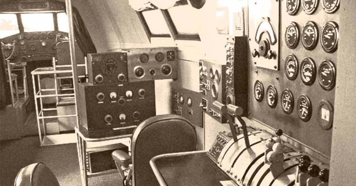 Early Navigation Equipment Used on Nonstop Transatlantic Flights