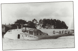 Short S.30 Empire Flying Boat