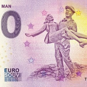 The Quiet Man Commemorative 0 Euro Banknote